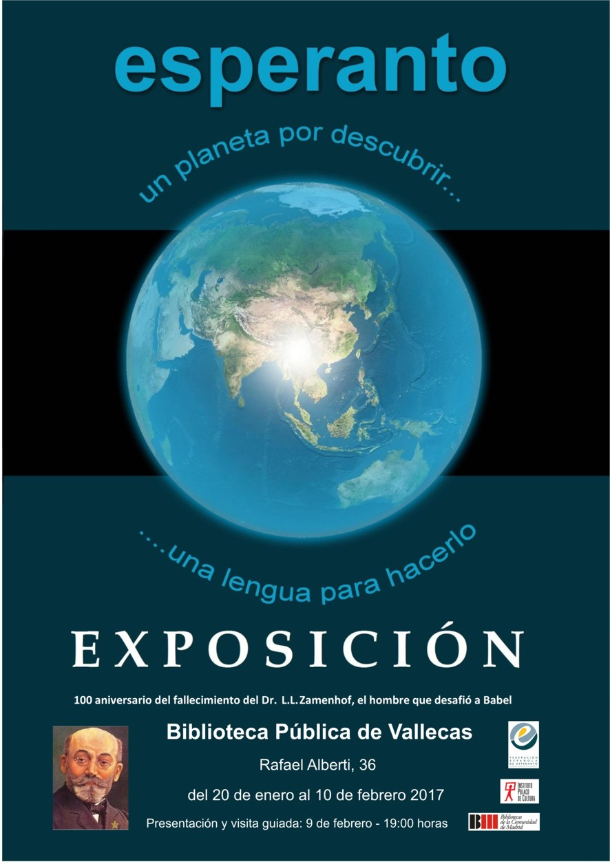 Cartel Expo Vallecas