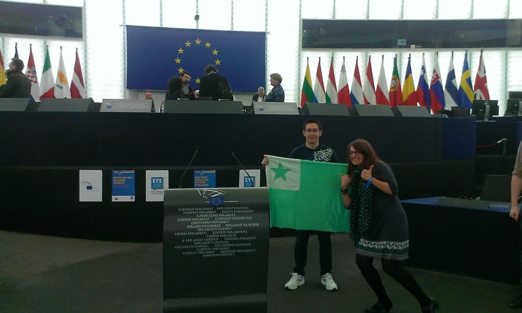 esperanto en el Parlamento Europeo