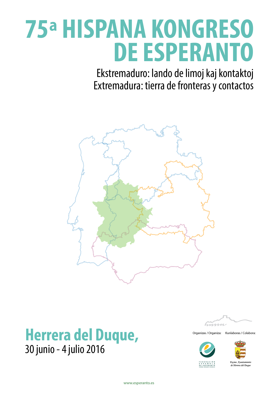 Cartel del 75 Congreso Español de Esperanto