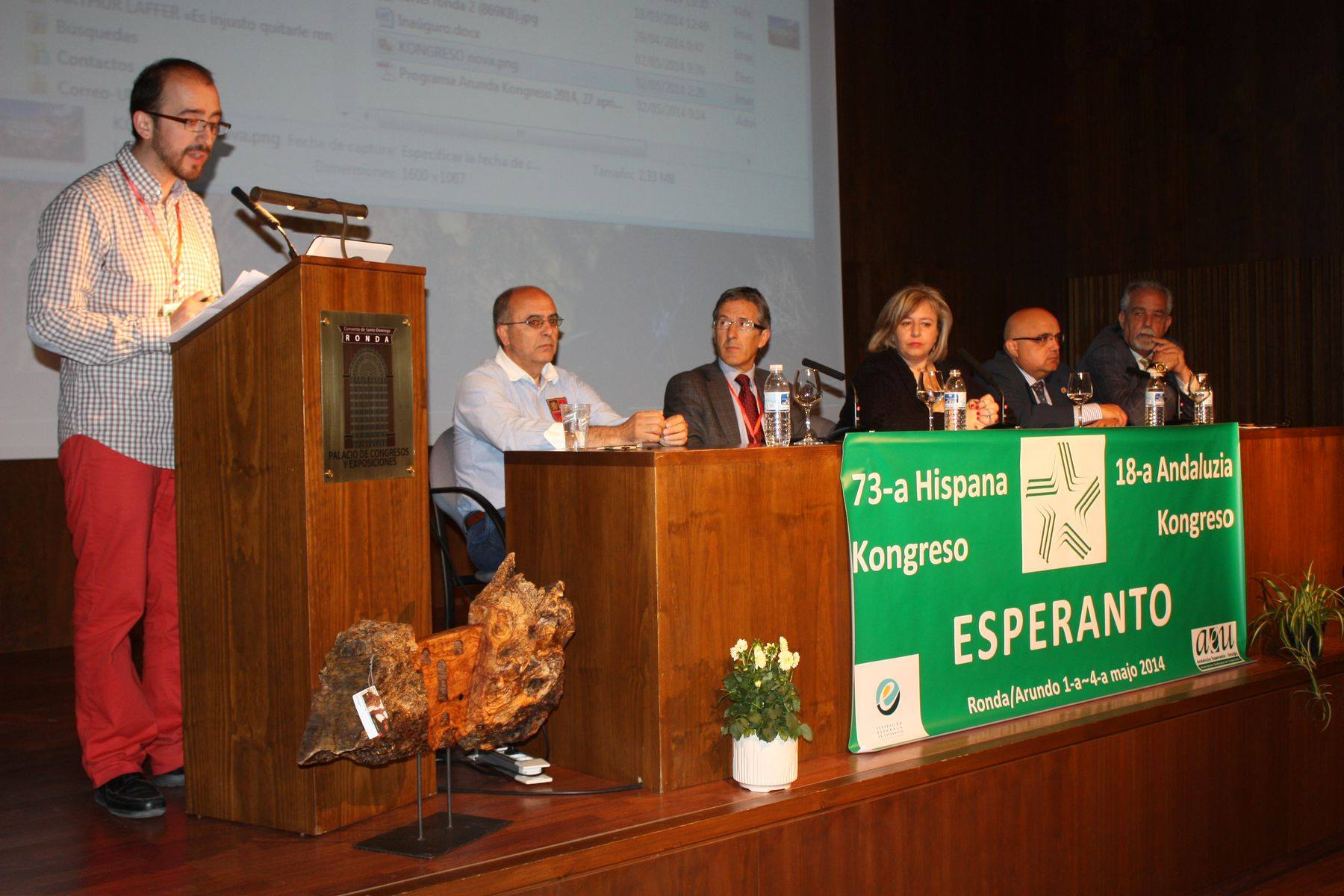 Inauguración del congreso de Ronda